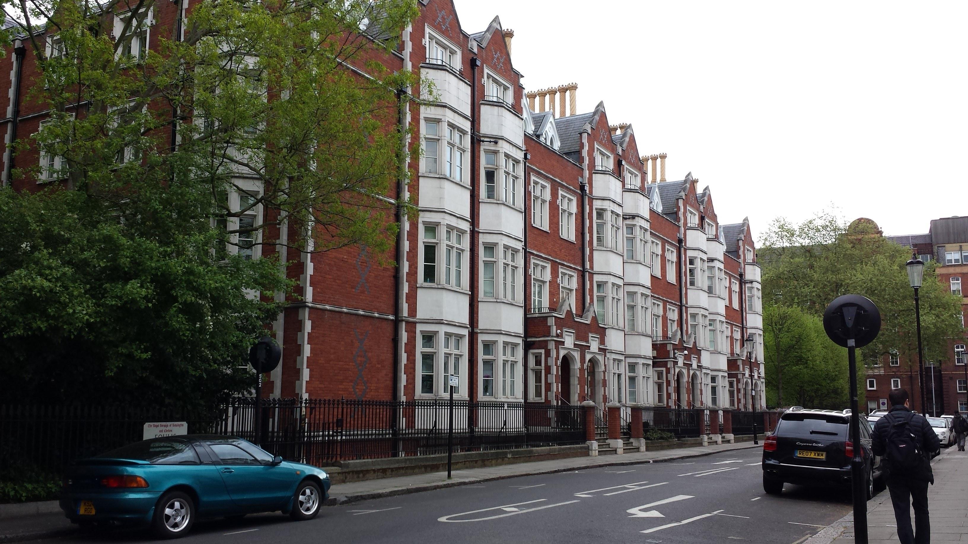 St Luke's Chapel, Fulham Road, Chelsea