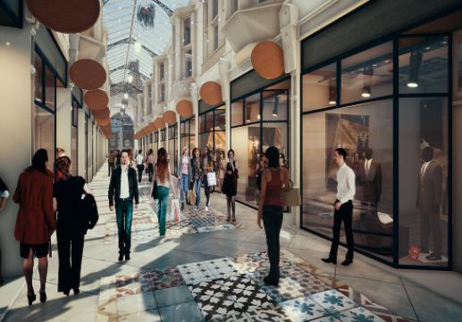 Getting Britain Building Fund: George Hotel, Huddersfield & Dewsbury Arcade
