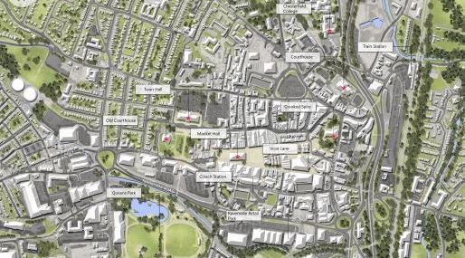 Chesterfield Town Centre Masterplan